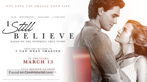 I Still Believe - Movie Poster