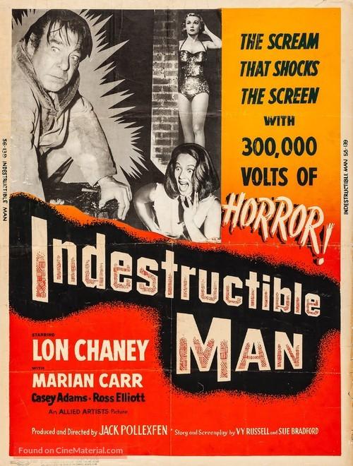 Indestructible Man - Movie Poster