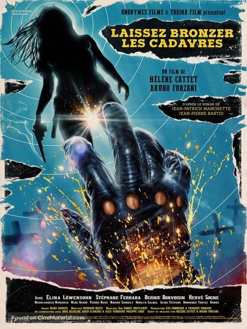 Laissez bronzer les cadavres - French Movie Poster
