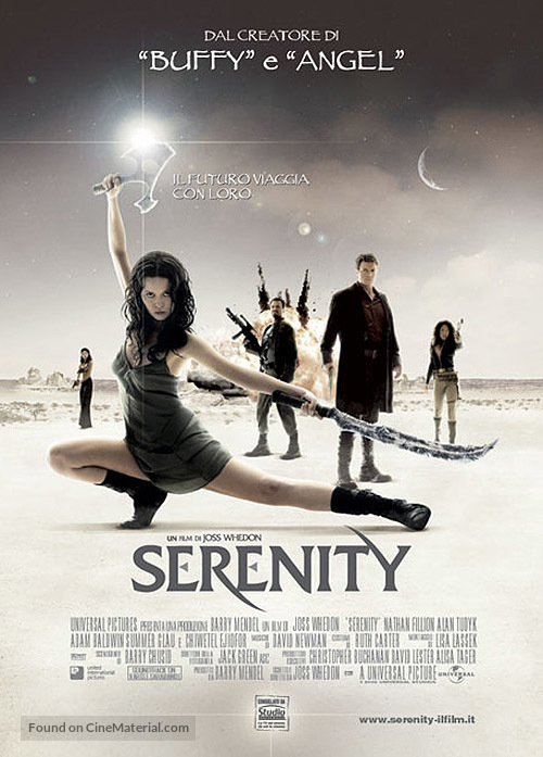 Serenity - Italian Movie Poster