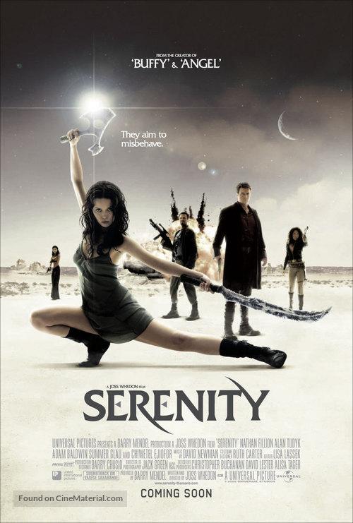 Serenity - British Movie Poster