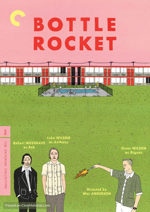 Bottle Rocket - DVD movie cover