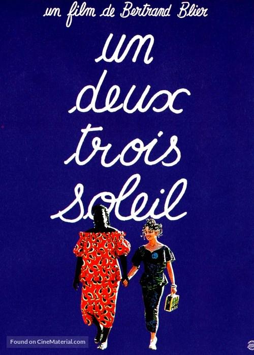 Un, deux, trois, soleil - French Movie Poster