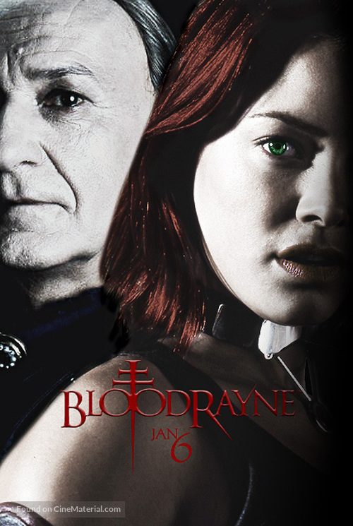 Bloodrayne - Portuguese Movie Cover