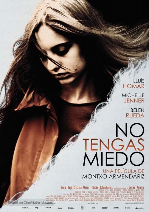 No tengas miedo - Spanish Movie Poster