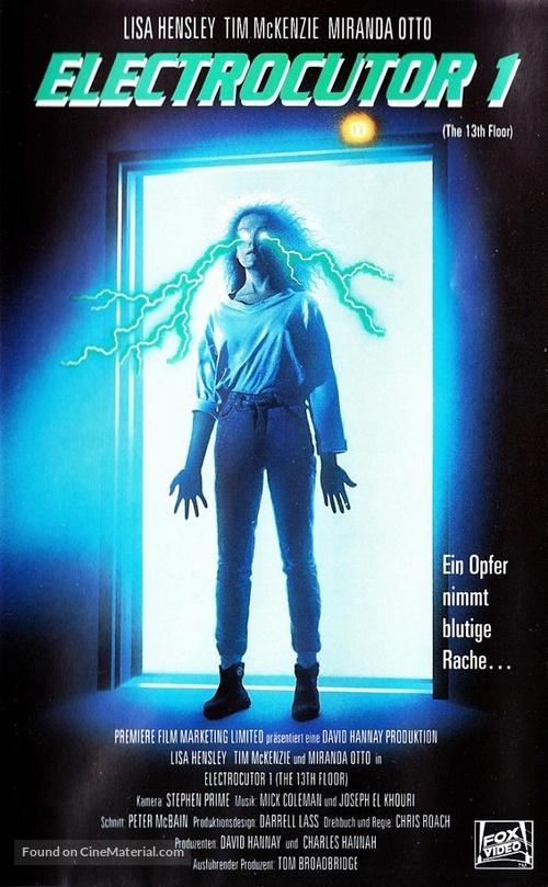 The 13th Floor (1988) German vhs movie
