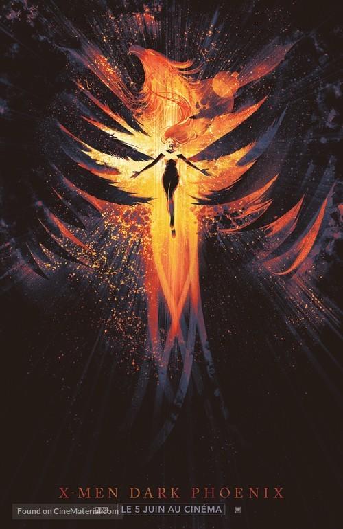 Dark Phoenix - French Movie Poster