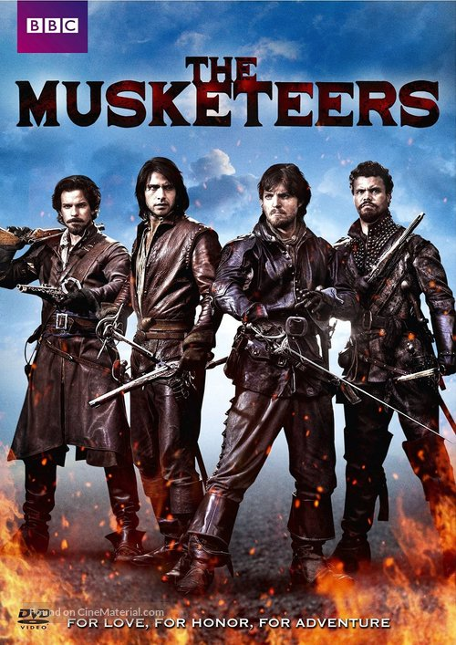 """""""The Musketeers"""" - DVD movie cover"""