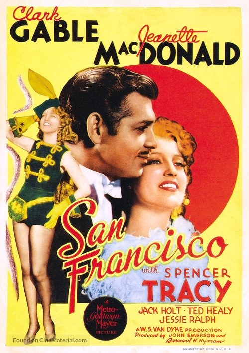 San Francisco - Movie Poster