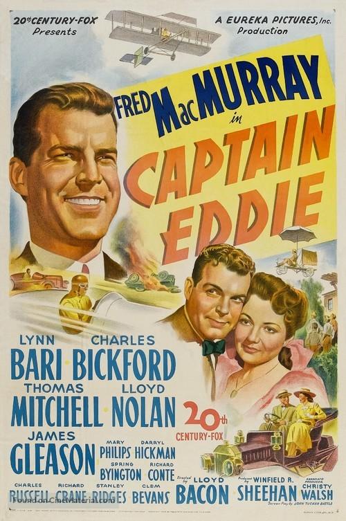 Captain Eddie - Movie Poster