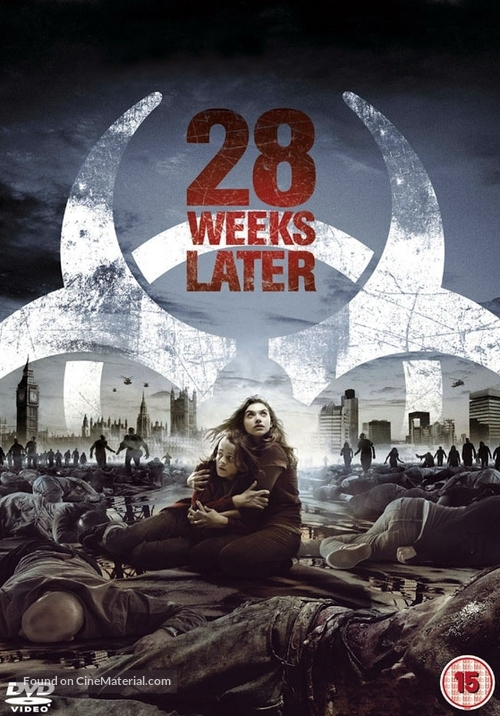 28 Weeks Later - British DVD movie cover