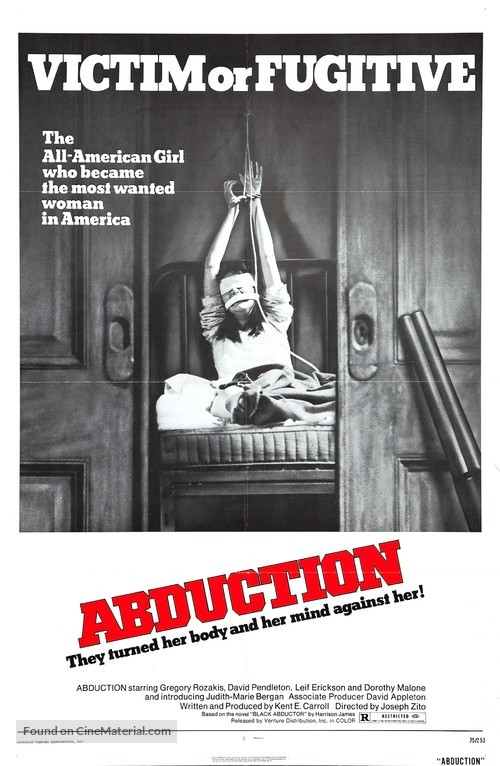 Abduction - Movie Poster