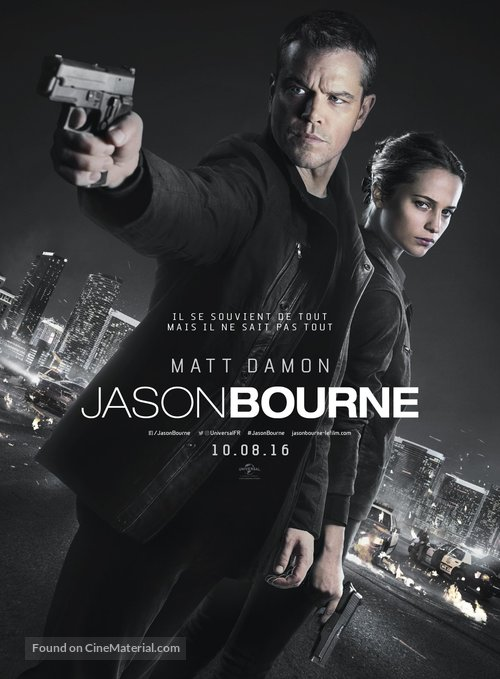 Jason Bourne - French Movie Poster