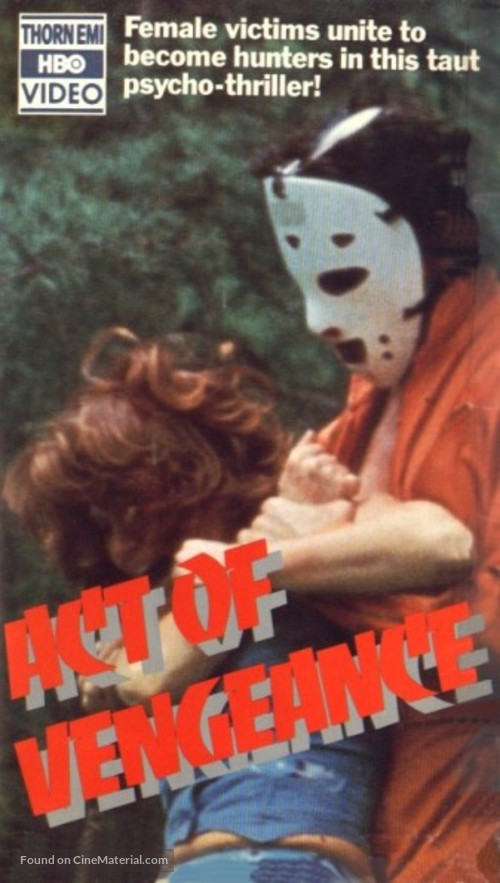 Act of Vengeance - VHS movie cover