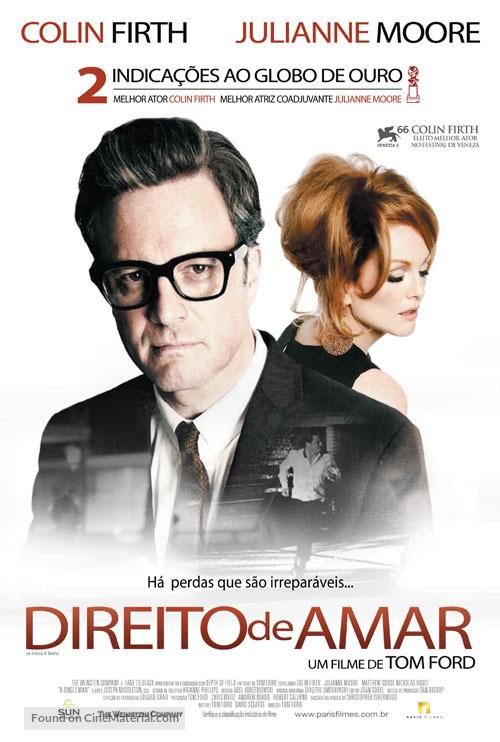 A Single Man - Brazilian Movie Poster
