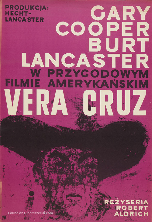 Vera Cruz - Polish Movie Poster
