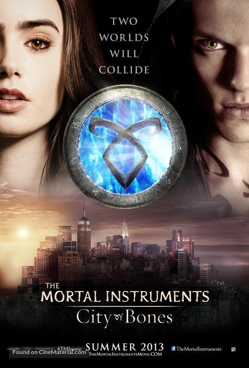 The Mortal Instruments: City of Bones - Movie Poster