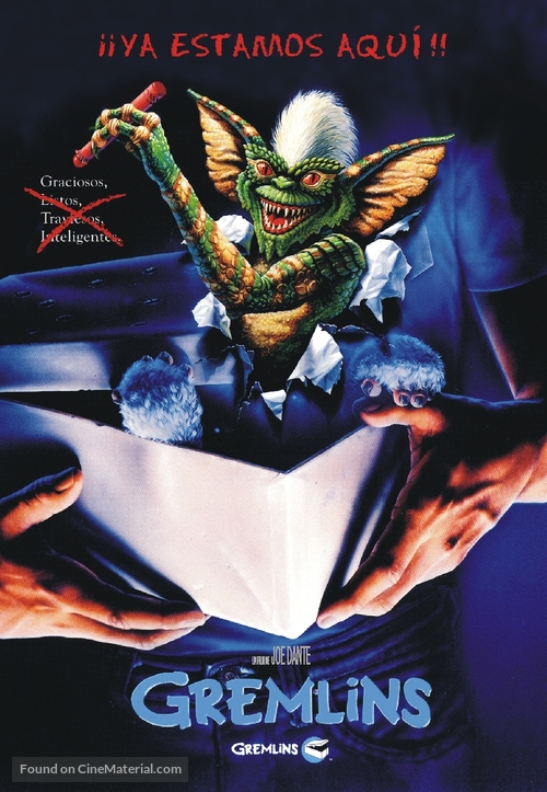 Gremlins - Argentinian Movie Cover