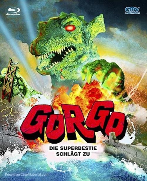 Gorgo - German Blu-Ray movie cover