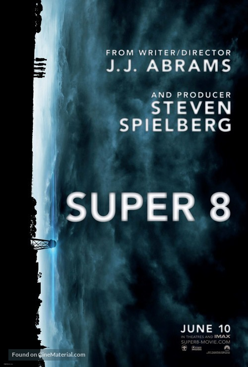 Super 8 - Advance movie poster