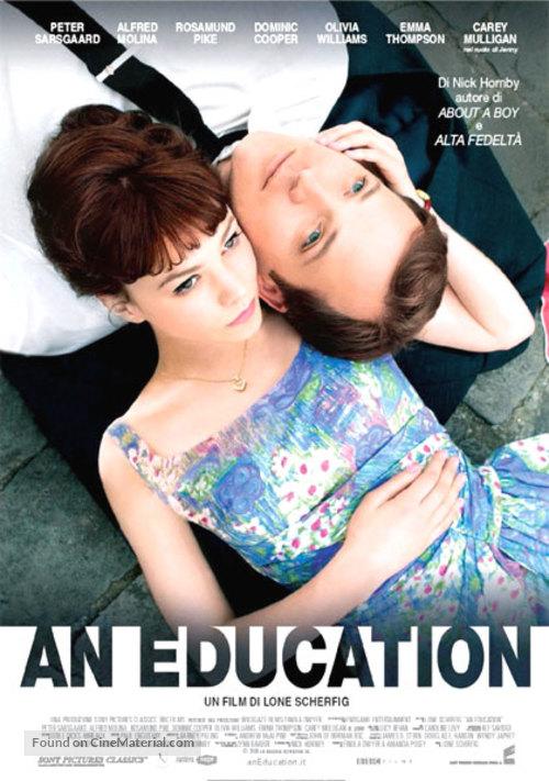 An Education - Italian Movie Poster