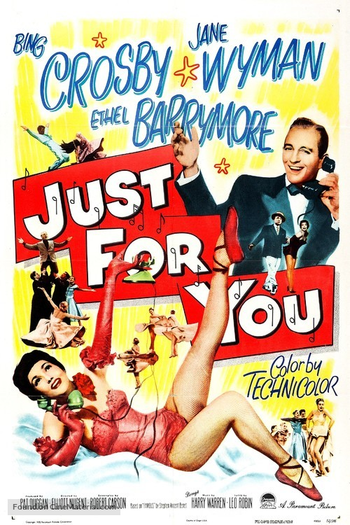 Just for You - Movie Poster