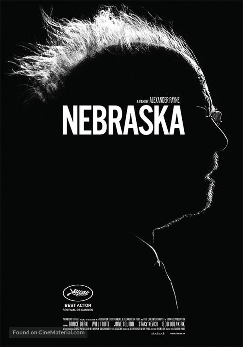 Nebraska - Belgian Movie Poster