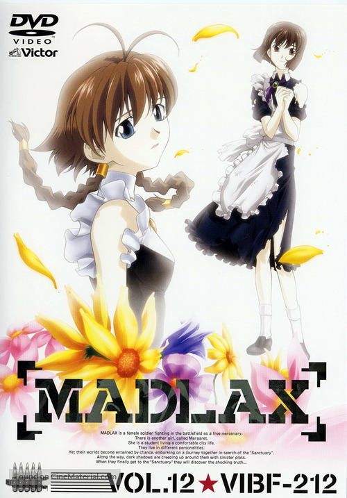 """Madlax"" - Japanese Movie Cover"