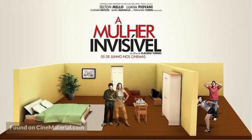 A Mulher Invisível - Brazilian Movie Poster