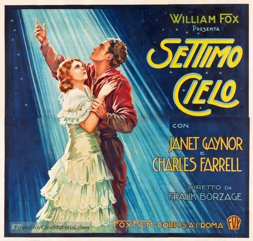Seventh Heaven - Italian Movie Poster