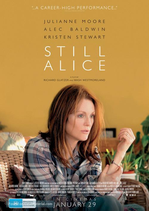 Still Alice - Australian Movie Poster