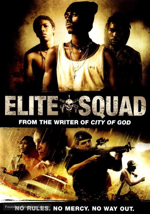 Tropa de Elite - DVD movie cover