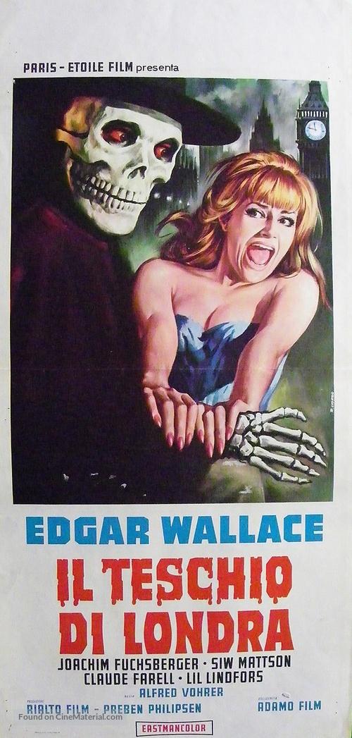 Im Banne des Unheimlichen - Italian Movie Poster