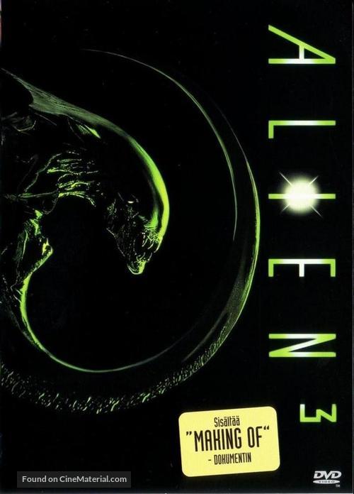 Alien 3 - Finnish DVD movie cover