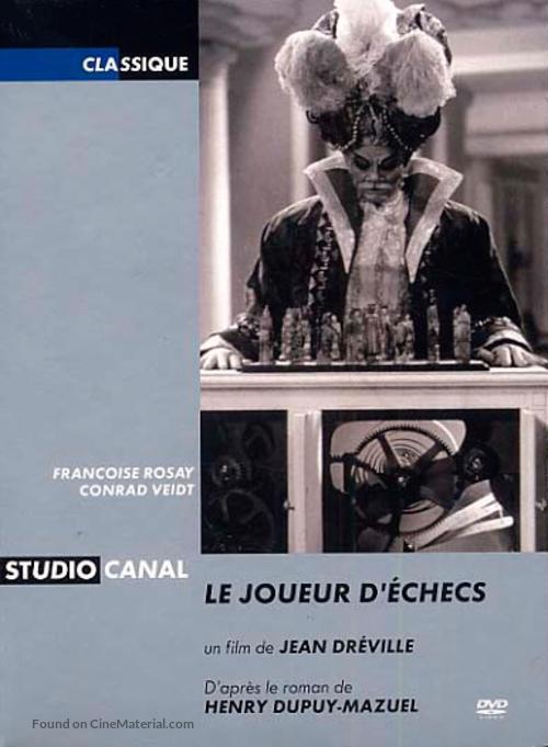 Le joueur d'échecs - French Movie Cover