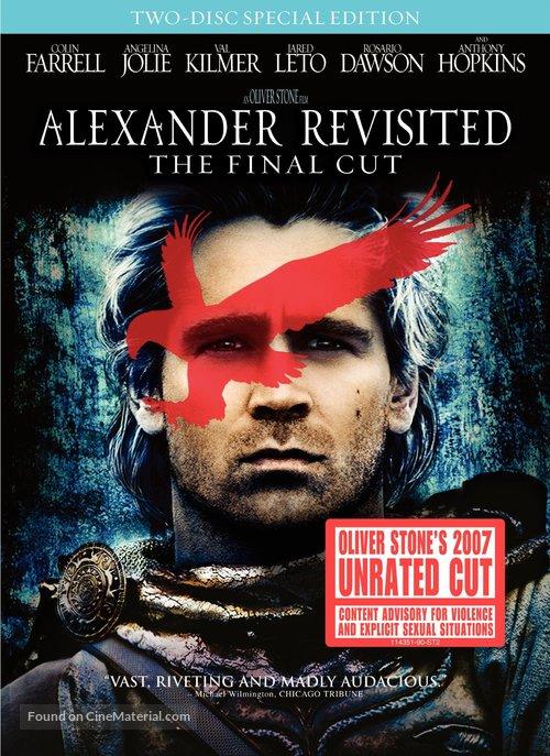 Alexander - DVD movie cover