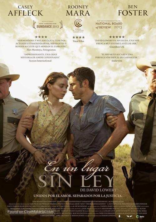 Ain't Them Bodies Saints - Spanish Movie Poster