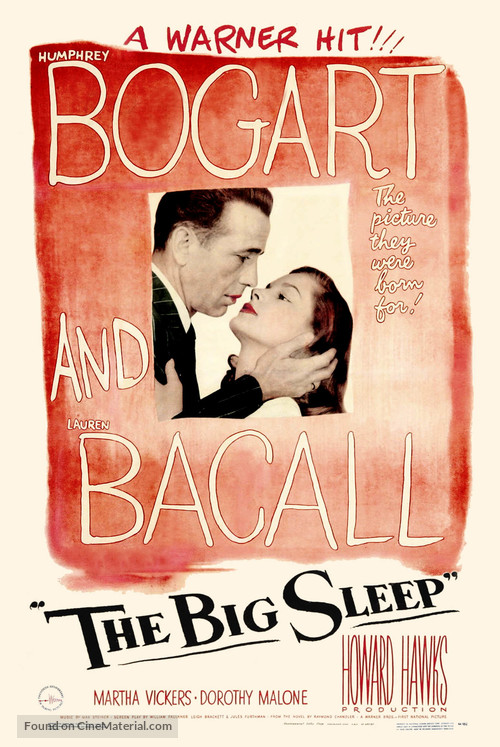 The Big Sleep - Movie Poster