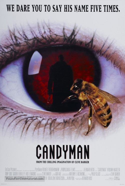 Candyman - Theatrical movie poster