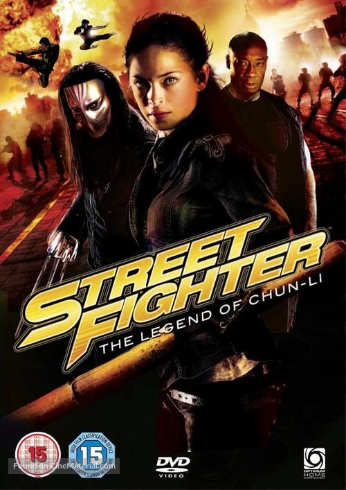 Street Fighter The Legend Of Chun Li 2009 British Dvd Movie Cover