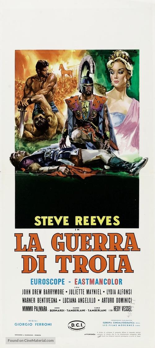 La guerra di Troia - Italian Movie Poster