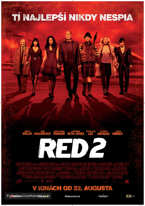 RED 2 - Slovak Movie Poster