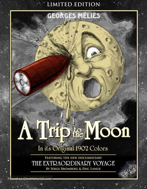 Le voyage dans la lune - Blu-Ray movie cover