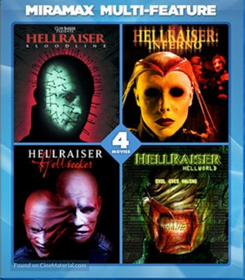 Hellraiser: Hellworld - Blu-Ray movie cover