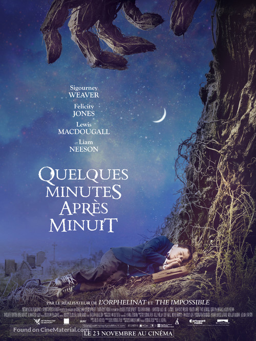 A Monster Calls - French Movie Poster