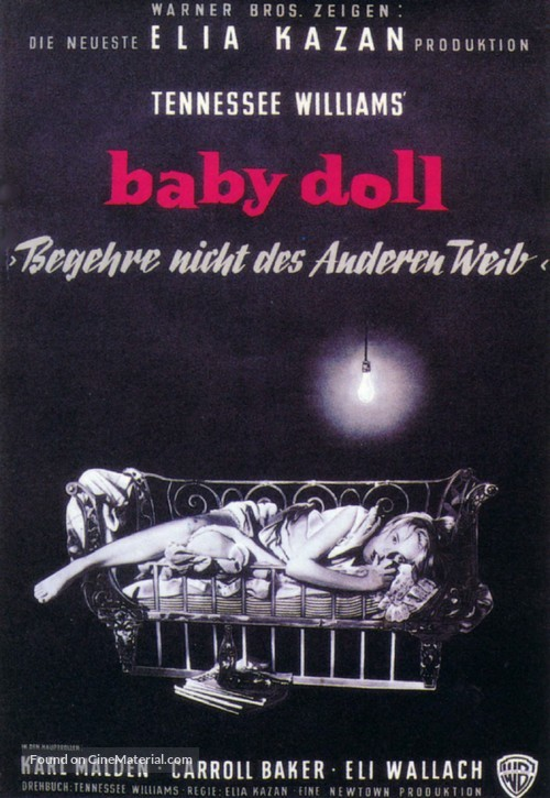 Baby Doll - German Movie Poster