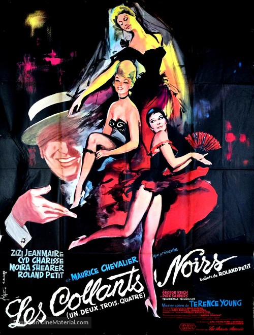 1-2-3-4 ou Les collants noirs - French Movie Poster