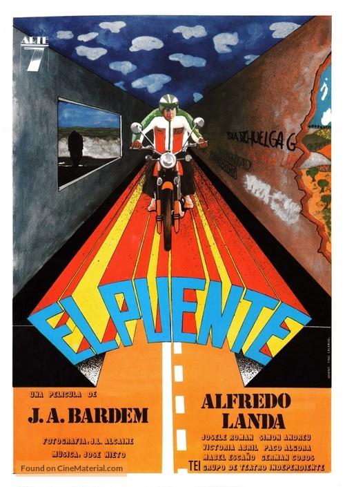 El puente - Spanish Movie Poster