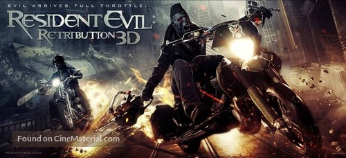 Resident Evil Retribution 2012 Movie Poster