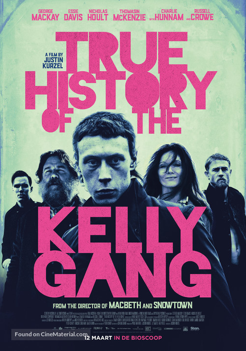 True History of the Kelly Gang - Dutch Movie Poster